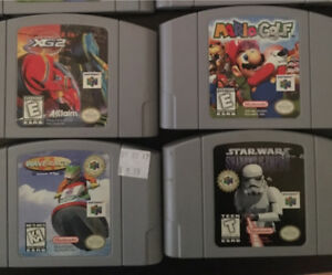 Nintendo 64 and 4 games