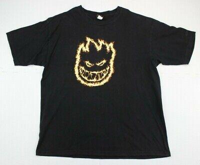 Vintage Spitfire Skateboard Wheels Big Baggy Logo BigheadTee Shirt Mens XL