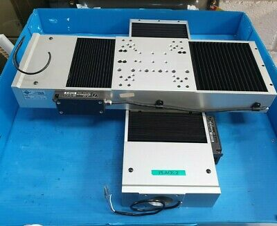 2 Pcs Of Aerotech Ats150-150-m-40p Screw-driven Linear Stage Cross Mounted