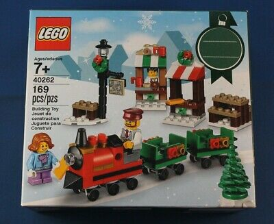 Lego 40262 Christmas Train Ride Set, Retired, New in Sealed Box.