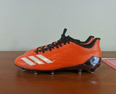 Adidas Adizero 5-Star 6.0 Football Cleats Orange Black Chrome BW1438 Size 12.5