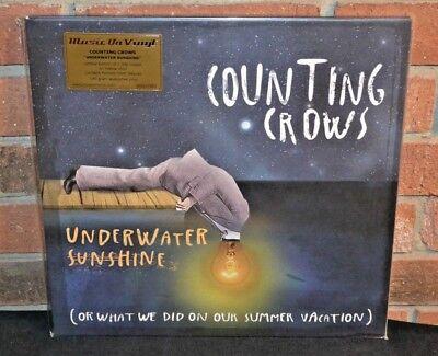 * COUNTING CROWS - Underwater Sunshine, LTD 180G 2LP YELLOW VINYL Foil #'d Bend!