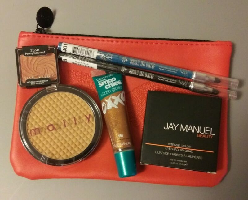 Ipsy Glam Bag Filled With 6 Mixed Name Brand Cosmetics