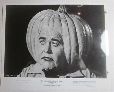 DISNEY'S WONDERFUL WORLD  NBC PRESS KIT 1980 3 STILLS JONATHAN WINTERS HALLOWEEN
