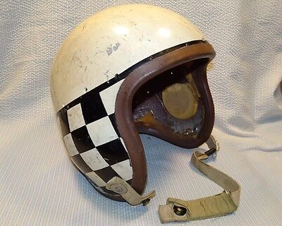 Vintage Korean War Era Fighter Pilot Helmet P-1B Shelby Shoe Co.