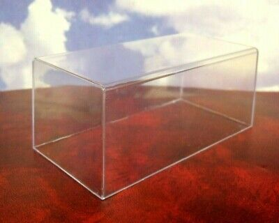 GENUINE IXO 1/43 CLEAR PERSPEX/ACRYLIC BOX TOP LID CASE 152 x 76 x 62mm