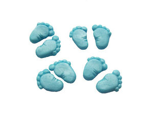 Baby feet cake decorations ebay for Baby feet decoration