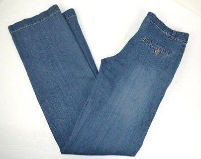 Rumor Has It! Women's Straight Leg Blue Jeans 6