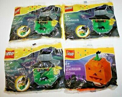 4 lot Lego HALLOWEEN sets: Witch 40032 - Jack o lantern 40055