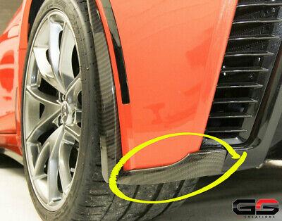 15-19 C7 Corvette Z06 ZR1 Grand Sport Hydro Carbon Fiber Rear Fascia Extensions for sale  Shipping to Canada