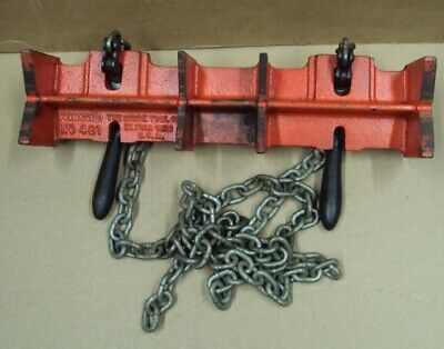 Ridgid Tool Co. Straight Pipe Welding Vise No. 461 Elyria Oh Usa