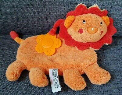 Schmusetuch Löwe Baby1one Supa Bieco orange rot  unbekuschelt, neuwertig