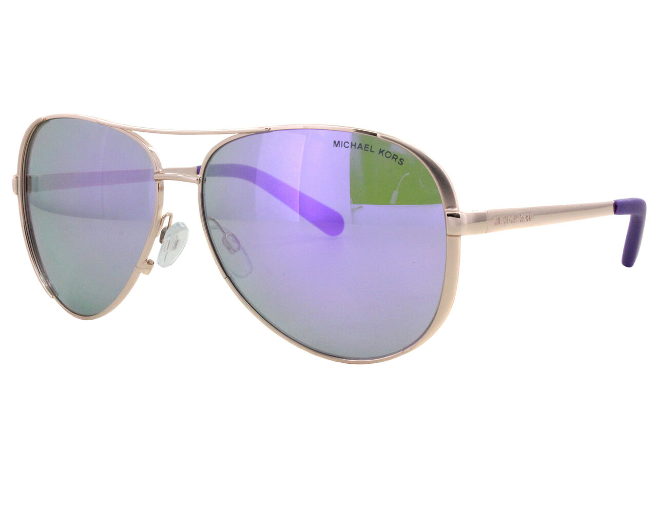 58300d49b6dd NWT Michael Kors Sunglasses MK 5004 10034V Rose Gold/Mirrored Purple ...