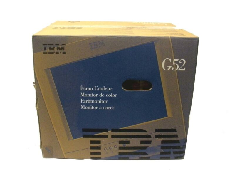 Ibm 60h9053 6564-00n Color Monitor