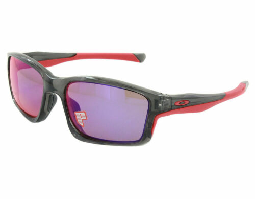 Oakley Chainlink POLARIZED Sunglasses OO9247-10 Grey Smoke W/ Red Iridium Lens