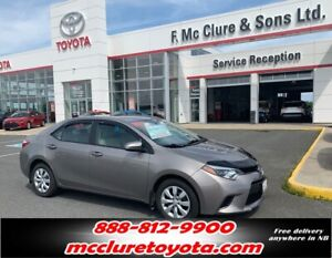 2014 Toyota Corolla LE VERY CLEAN