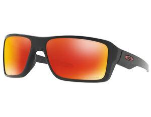 406a1d7985946 Oakley Double Edge Oo9380-0566 Matte Black Prizm Ruby Polarized 100  Authentic