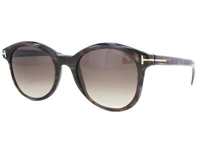 663bce9fd8 Tom Ford Riley Sunglasses Brown Frame Gradient Lens FT298 50F 51-19 140