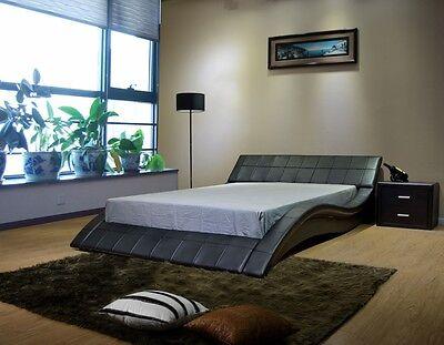 Greatime B1041-1 Wave-like Shape Platform Bed