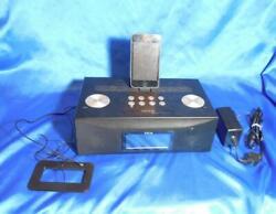 IHome iD85 AM FM Radio Alarm Clock IPod/IPhone/IPad Charger + iPod A1288, 8GB