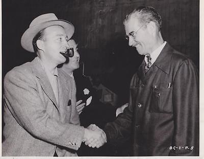 Here We Go  Bing Crosby Embarking On  The Great John L   11 1944 News Photo