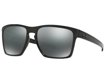 Oakley Sliver XL OO 9341- 05 Polished Black/Black Iridium Sunglasses NWT OO9341