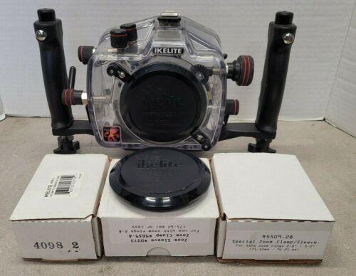 Ikelite 200FL Underwater TTL Housing for Canon EOS 400D Rebel XTi DSLR  6871.40