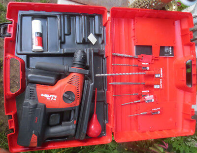 Hilti Te 7-a 36 Kit-36v Li-ion Rotary Hammer Drill Drs Sds Plus Lithium