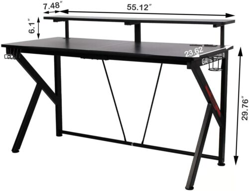 Recording Studio table desk with monitor mounts Audio Mixing Workstation