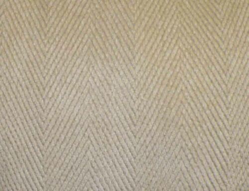 Kravet Ivory Chevron Upholstery Weight Chenille Fabric-8+YDS