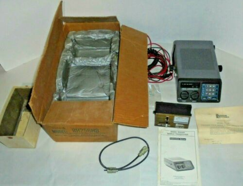 REHM RECEIVER MOBILE TRANSCEIVER COMMUNICATIONS WITH BOX