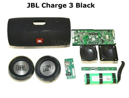 JBL Charge 3 Black Main Board/ Speaker/ Charging Port Replacement Parts