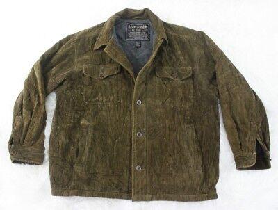 Abercrombie & Fitch Mens Wide Wale Corduroy Jacket Brown Blazer Sport Coat Sz M for sale  Halifax
