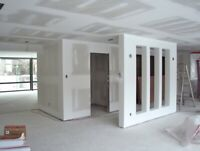 Plaster and drywall
