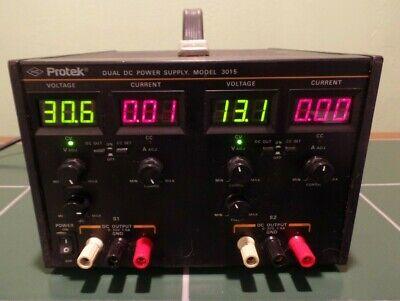 Protek Model 3015 Dual Dc Digital Power Supply