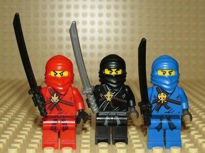 LEGO KAI JAY COLE lot NINJAGO minifigure NINJA The Golden Weapons