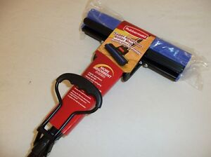 RUBBERMAID CLEANING G780-04 ABSORBENT PVA ROLLER SPONGE MOP BLUE AND BLACK NEW