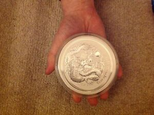 1kg Silver Coin 'Year of the Dragon' bullion Rockingham Rockingham Area Preview