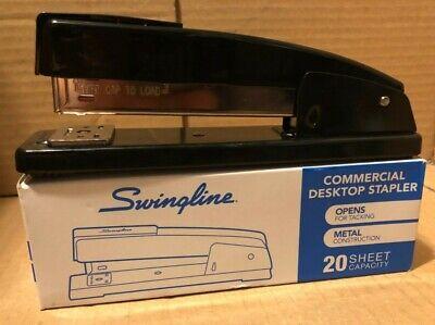 Swingline Stapler Commercial Desktop Office Heavy Duty Metal 20 Sheets Paper