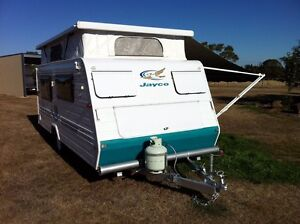 Jayco freedom pop top caravan Mount Egerton Moorabool Area Preview