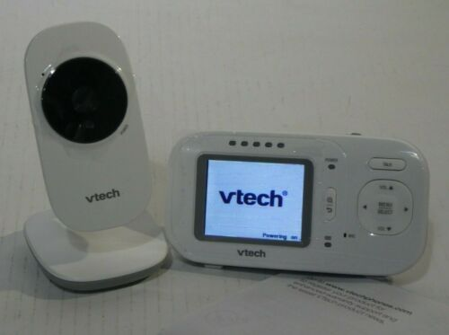 """VTech VM2251 Video Baby Monitor with 2.4"""" Screen White NEW"""