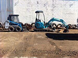 Mini bobcat, Excavator & 6 cubic metre tipper Keperra Brisbane North West Preview