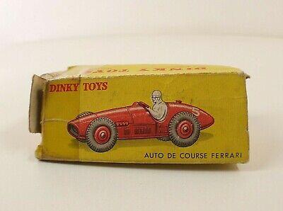 Dinky Toys boîte repro 23J auto de course ferrari