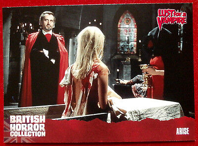 BRITISH HORROR - Card #71 - Lust for a Vampire - ARISE