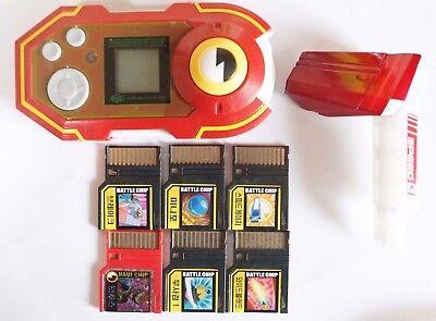TAKARA Rockman EXE (Mega Man) : DX PROGRESS PET SET RED NO BOX