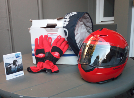 SCHUBERTH C3 PRO Racing Helmet (XL) - Never Used!