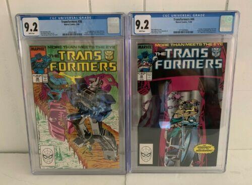 Transformers CGC Graded Comics