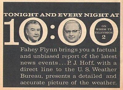 Wbbm Chicago Tv News Ad Fahey Flynn   P J Hoff Weather Channel 2