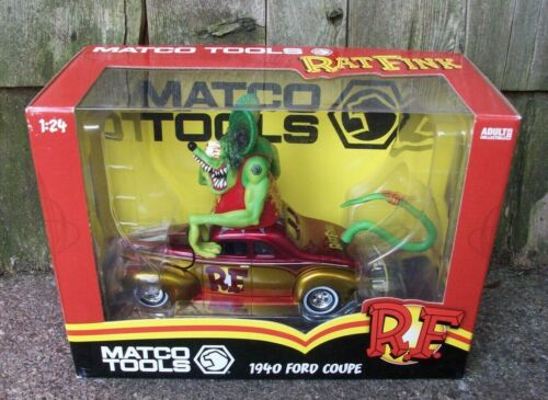 Matco Tools Ed Roth Rat Fink 1940 Ford Coupe Old Skool Hot Rod Street Machine