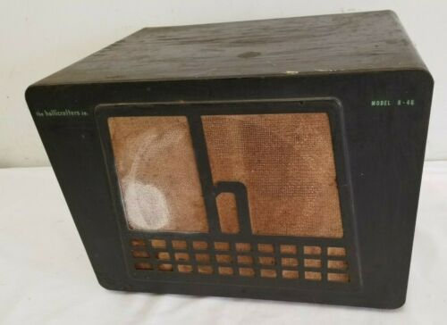 Vintage Hallicrafters Radio Speaker R-46 for Restoration